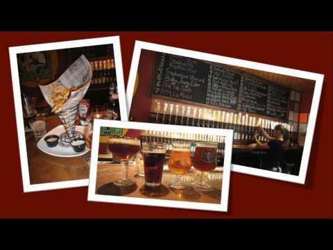 Brunswick Maine Restaurant  REVIEW - Ebenezer's Brew Pub II - World's Best Beer Bar