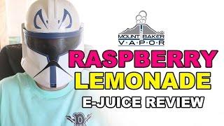 Mt. Baker Vapor E Juice Review: Raspberry Lemonade