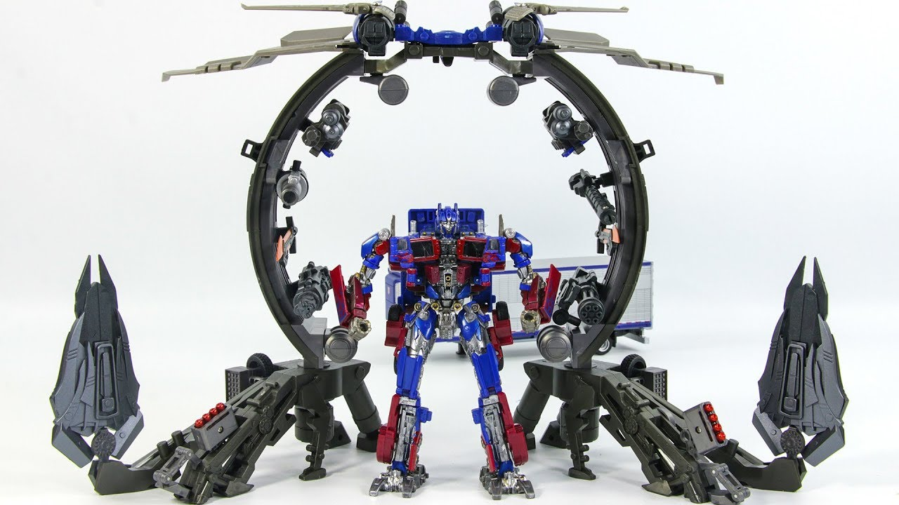 transformers movie studio series optimus prime & fwi-567 ultimate