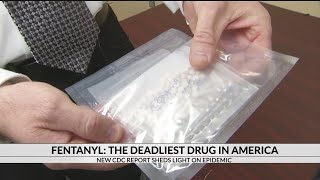 Greenville Police warn of fentanyl after CDC report shows it's the deadliest drug in America