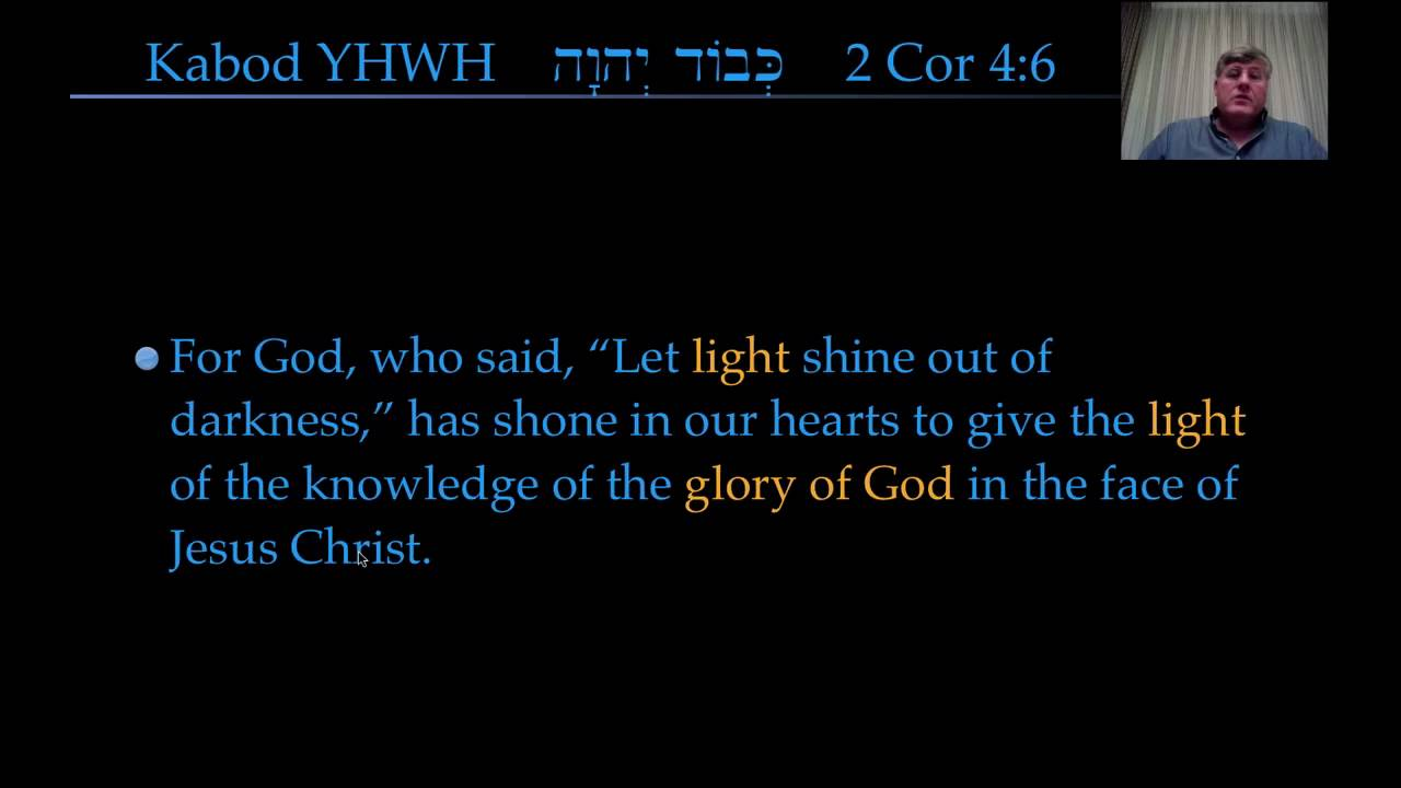 Genesis 1:3, Glory of the Lord as Light of Creation - YouTube