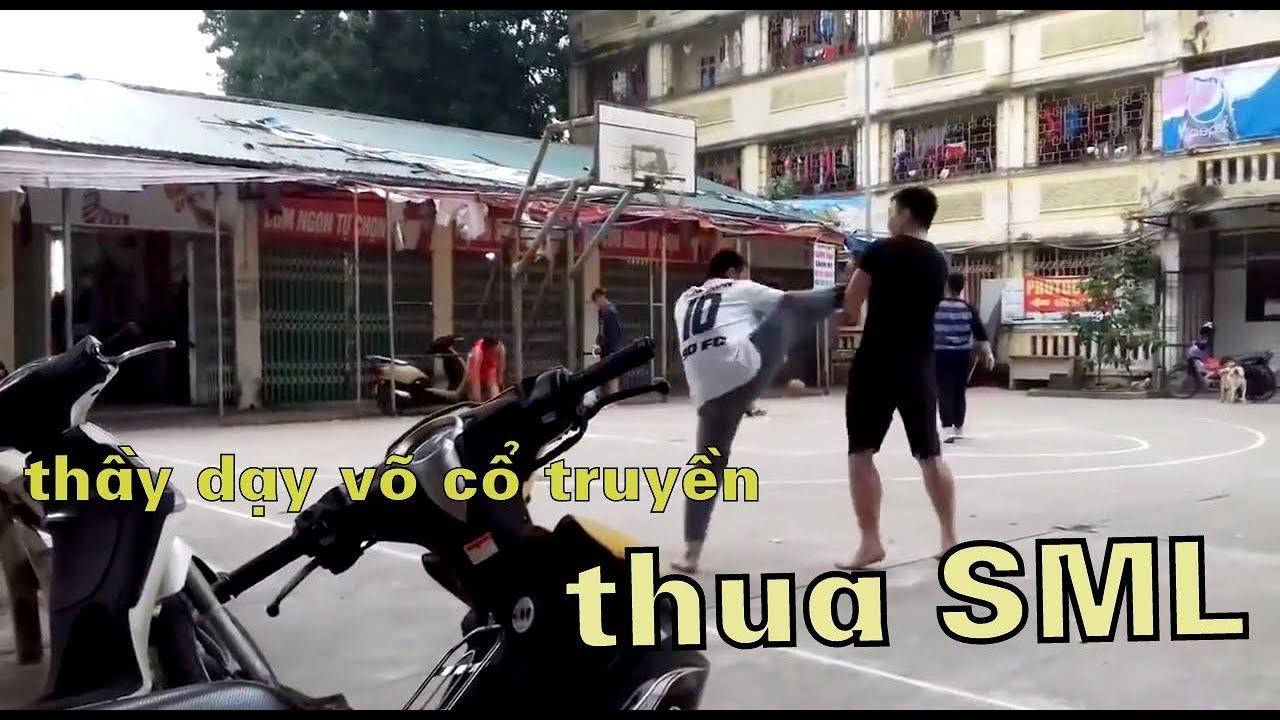 Thầy dạy võ cổ truyền bị đánh sùi bọt mép vì dám thách đấu võ sư kickboxing