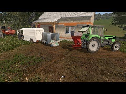 Small grass bales and fertilizing | Small Farm | Farming Simulator 2017 | Episode 6