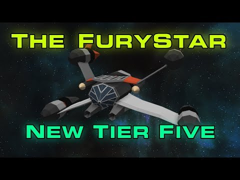 ANOTHER new ship - the FuryStar - ECP giveaway - Starblast.io