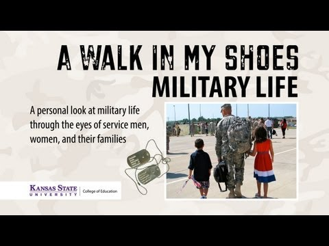 """A Walk in My Shoes: Military Life"" Full Documentary"