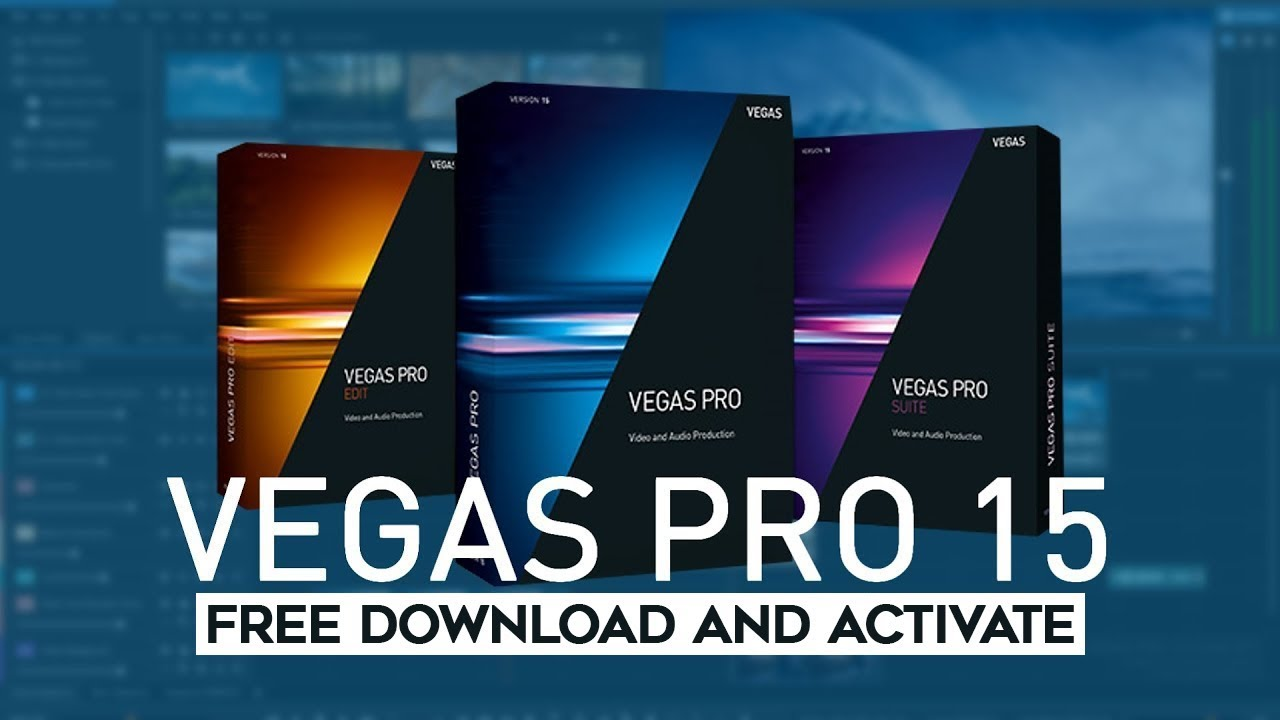 Vegas Pro 15 0 216 + components FX - Free Download