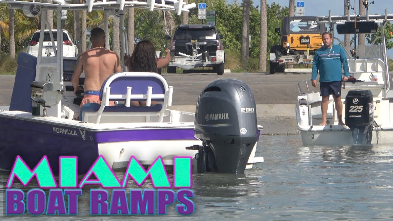 Boat Accident and Things Get Heated!! | Miami Boat Ramps | 79th St