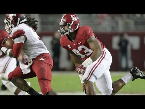 Jonathan Allen (Alabama) vs. Michigan State (2015)