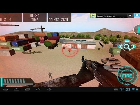 Counter Air Attack 3D - Android gameplay GamePlayTV