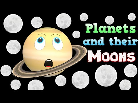 Moons for Kids | Planets for Kids | Solar System