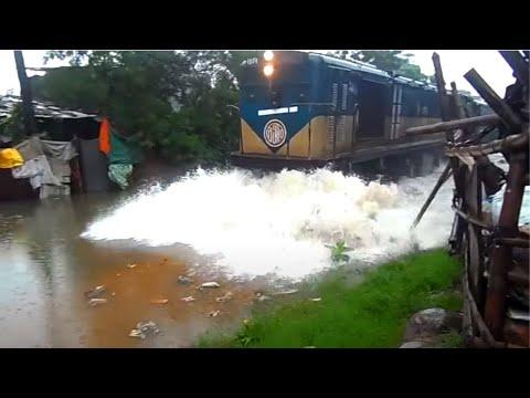 dhaka to narayanganj Bangladesh Railway Train/2017