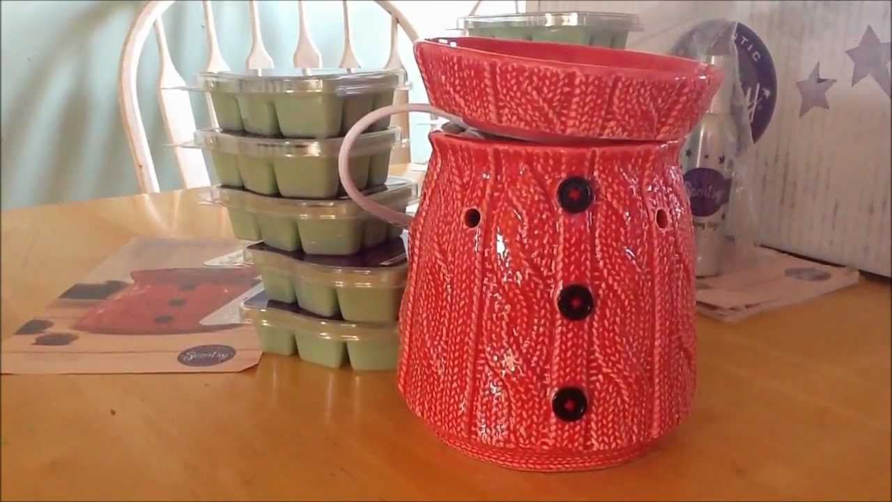 Scentsy December 2012 Scent Warmer Of The Month Comfy