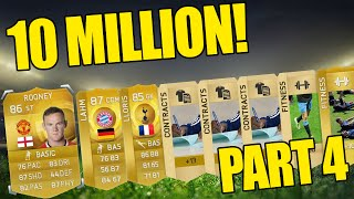 CRAZY PACKS!!! Fifa 15 - 10 Million Coin Pack Opening Highlights - Part 4 Thumbnail
