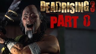 Dead Rising 3 Walkthrough Part 8 Zhi Psycho Boss Fight With Commentary Xbox One 1080P