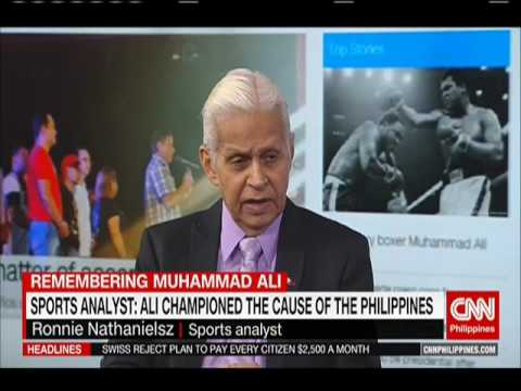 Sports analyst: Ali championed the cause of the Philippines