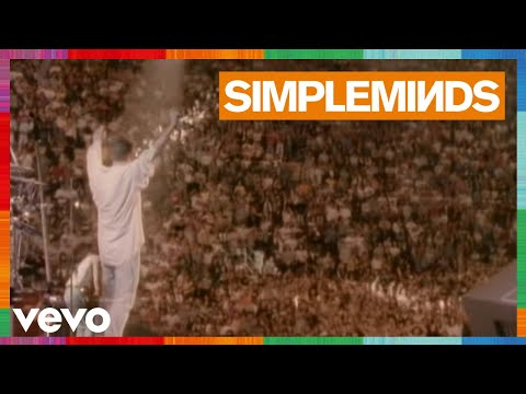 Simple Minds - Alive And Kicking (Live)