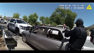 Phoenix Police body cam video & witnesses phone video from fatal police shooting of James Garcia