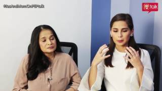 PEP TALK. Jasmine Curtis-Smith reveals she went through anxiety and depression