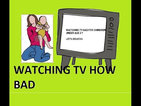 why watching tv is bad Watching too much television significantly increases the risk of developing obesity and type 2 diabetes, the results of a new study indicate researchers analysed the lifestyles of over 68,000 women over a six-year period, specifically focusing on levels of physical activity and sedentary behaviour .
