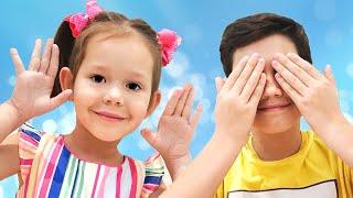 Peek A Boo Song | Nursery Rhymes & Kids Songs | Children Rhyme