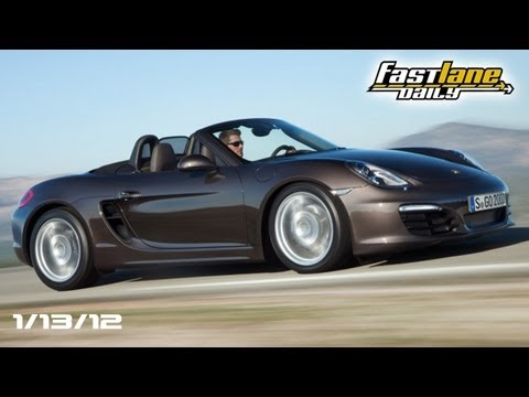 2013 Porsche Boxster Teased, Toyota Claims Revival, & Detroit Booth Babes