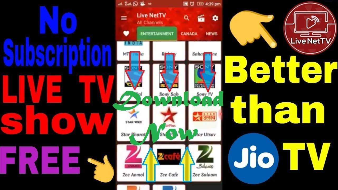 Live net TV 4 6 Download | Free Android TV apps | 100 % Working | No  Subscription
