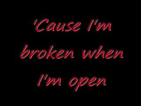 Broken [Seether] Lyrics