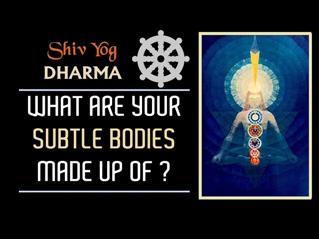 SHIV YOG DHARMA: What Are Your Subtle Bodies Made Up Of ?