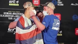 UFC 251 Weigh-In Staredowns - MMA Fighting