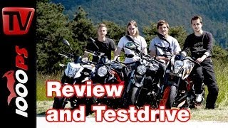 Best Beginner Motorcycles review 2014 | Nakedbikes