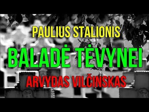 Paulius Stalionis ir Arvydas Vilčinskas - BALADĖ TĖVYNEI