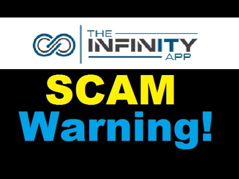 The Infinity App Review - Busted Trading SCAM WARNING