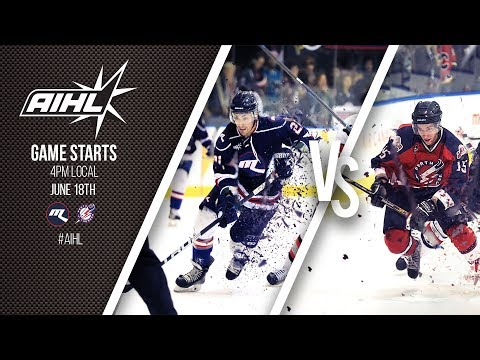 AIHL Live Game 48 Perth Thunder v Melbourne Ice (18/06/17)