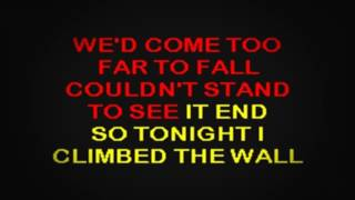 SC2304 01 Jackson, Alan Tonight I Climbed The Wall [karaoke]