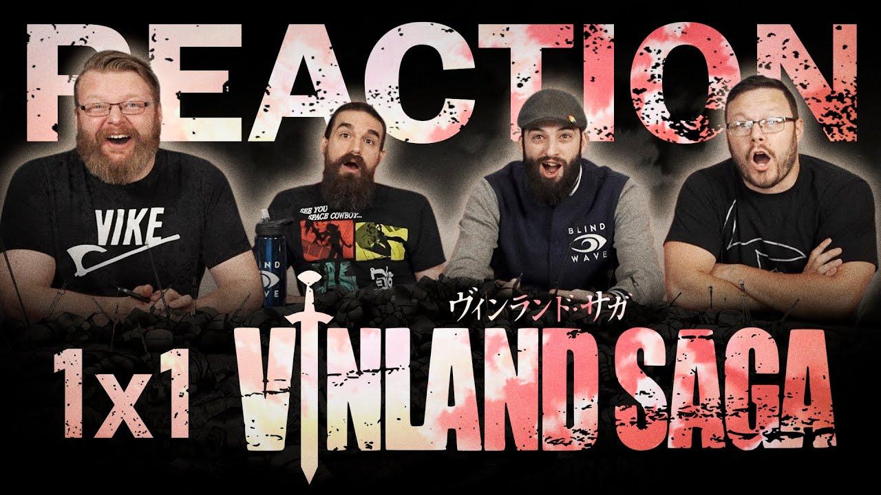 "Vinland Saga 1x1 REACTION!! ""Somewhere Not Here"""