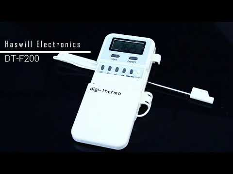 DT F200 Probe digital food thermometer with 100cm cable