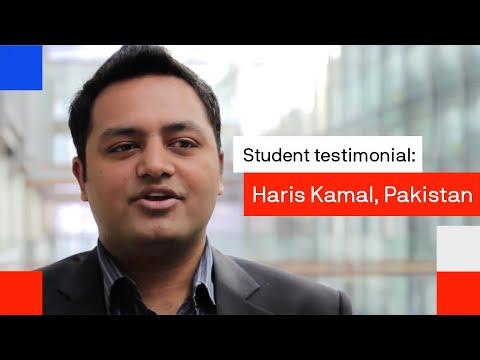 UTS International student: Haris Kamal, Pakistan