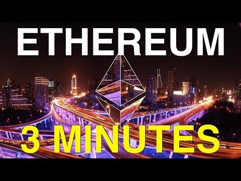 ETHEREUM en 3 MINUTES (Explications CRYPTO-MONNAIE)