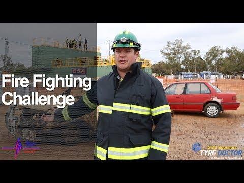 2018 NSW Mines Rescue Challenge. Fire Fighting Challenge
