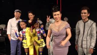 """Vietnam's Got Talent 2016 - GK VIỆT HƯƠNG, HUY TUẤN chia sẻ """"quyền lộng hành"""" trong đêm BÁN KẾT 6"""