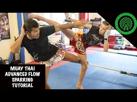 Muay Thai Advanced Flow Sparring Tutorial