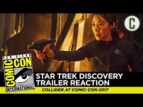 Star Trek: Discovery Comic-Con Trailer Reaction & Review - SDCC 2017