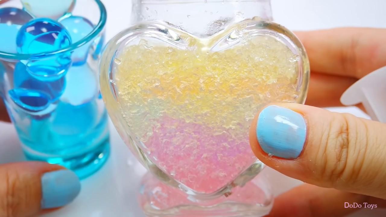 DIY 星空瓶 浪漫 療瘉小物 水晶寶寶 超級簡單 3分鐘完成 Galaxy Bottle l Bottle Nebula - YouTube