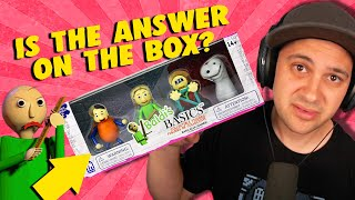 Does This BALDI TOY Hold The ANSWER To Baldi's Impossible Question?!