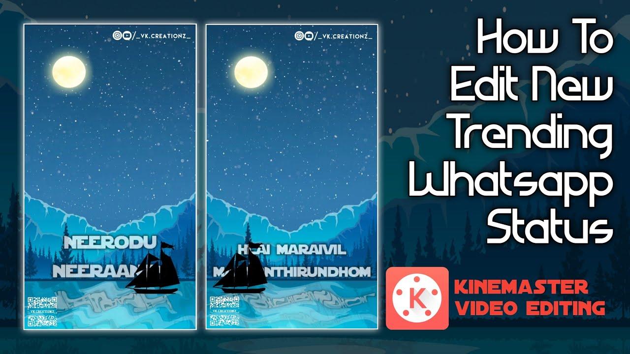 How To Edit New Trending Video 🔴 Kinemaster Editing VK STUDIO தமிழில்