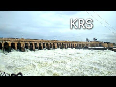 KRS Dam full 2018 || Krishna Raja Sagara Dam || Kannambadi Katte
