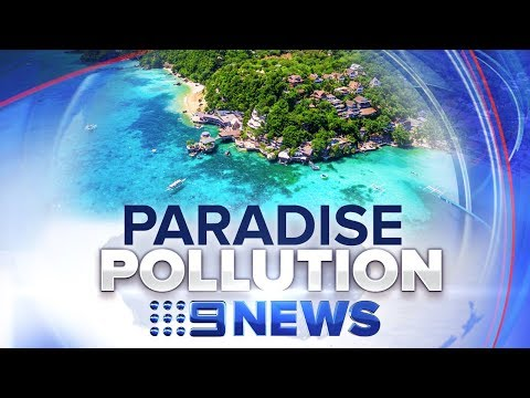 How tourism trashed island of Boracay in the Philippines | Nine News Australia