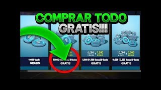 TRUCO PARA paVos GRATIS EN FORTNITE !!! - 2.500 paVos CADA MINUTO SIN APPS