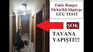 Fakir Elektrikli Süpürge ÇEKİŞ GÜCÜ! - 4A Fakir Ranger Güç Testi