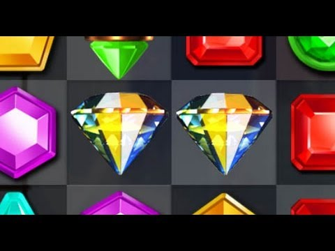 Jewel Mania: CRAZY DOUBLE DIAMONDS BOMB!!